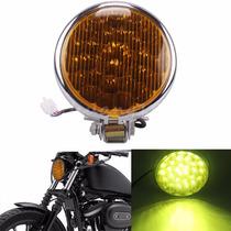 Farol Led Harley Davidson Motos Custom Bobber Chopper