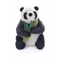 Educando Peluche Oso Panda Sentado Bambú 30 Cm
