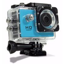 Camera Sport Prova De Agua 1080p Capacete Bike Moto Full Hd