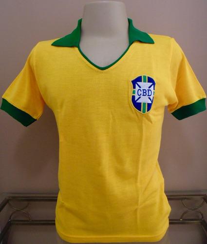 camisa retrô seleção brasileira brasil 1962 - manto sagrado. Carregando zoom . cefe51669d765