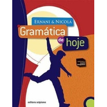Livro Gramática De Hoje - Volume Único Ernani Terra