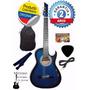 Guitarra Electroacústica+cable+forro+púa+colgador+bono