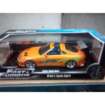 Toyota Supra 1:18 Rapidos Y Furiosos Jada Toys.