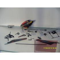 Set De Refacciones Para Helicóptero Wl 911 4ch + Bateria