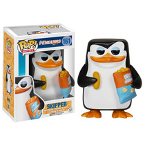 Skipper Pinguins De Madagascar Funko Pop Movies Fu-5279