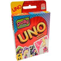 Uno Polly Cards Jogo Cartas Para Crianças + Manual Mattel