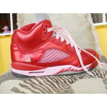 Tenis Jordan 5 Retro Valentines Day + Envio Dhl Gratis
