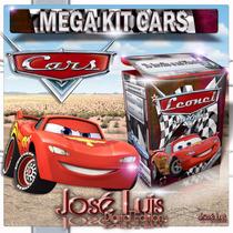 Cars Disney Invitacion Banderines Kit Imprimible Jose Luis