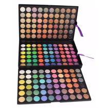 Paleta De Sombras 180 Cores Maquiagem Jasmyne Manly Mac