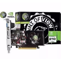 Placa De Vídeo - Geforce G210 1gb Gddr3 - Point Of View