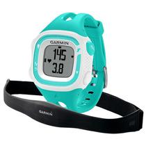 Reloj Garmin Forerrunner 15 Aqua-blanco Con Monitor Cardiaco