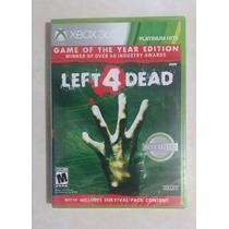 Left 4 Dead Para Xbox 360 Semi Nuevo Envio Gratis Por Dhl