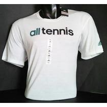 Polo Adidas Climalite De Tennis Modelo Adidas-usa[2xl]blanco