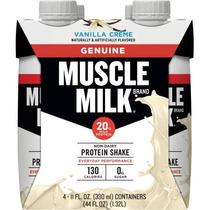 Genuina Muscle Milk Shake Nutricional Crema De Vainilla - 4