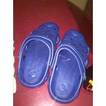 Chola Tipo Croos Marca Wavesun Color Azul Talla 39