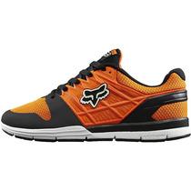 Tenis Fox Racing Elite 2 Naranja Negro