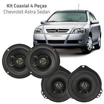 Kit 4 Peças Coaxial Para Astra Sedan H-buster Auto Falante