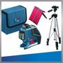 Nivel Laser Bosch Gll3-80 360° + Trípode Bs 150 + Regalo!!