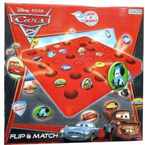 Flip And Match Cars Ditoys Juego De Memoria Rayo Mc Queen