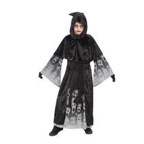 Disfraz De Vampiro - Grande Negro P/niños Almas Olvidadas