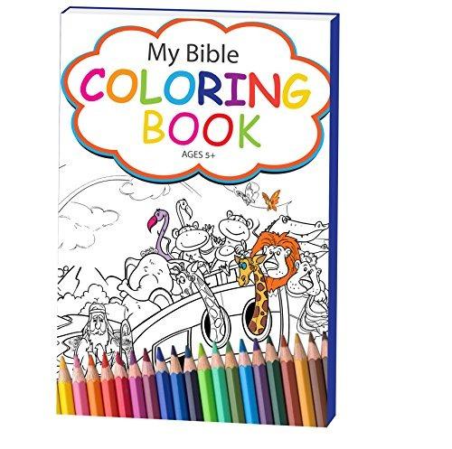 Mi Libro De Colorear De La Biblia Para Niños Pequeños Abre ...