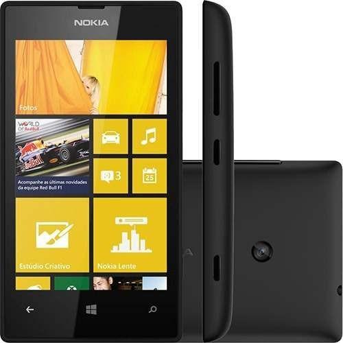6d68fdb96ae49 Nokia Lumia 520 Windows Phone 8 3g Original - Novo Lacrado - R  348,00 em  Mercado Livre