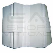 Faja Protec Sacro Lumbar De Goma Blanca Para Uso Diario.