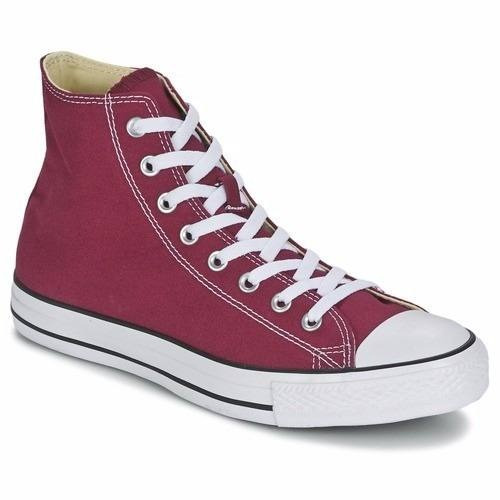 zapatillas converse bordo