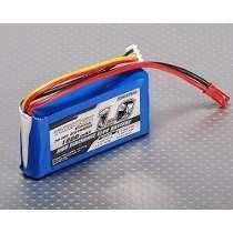 Bateria Lipo 1000mah 2s 7,4v 20 30c Turnigy