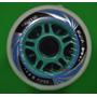 Roda Rodinha Patins Roller 80mm Kit Com 8 Unidades Rodas
