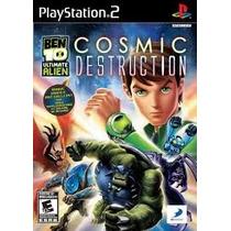 Patch Jogo Ps2 Ben 10 Cosmic Destruction Frete Grátis