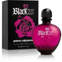 Perfume Feminino Paco Rabanne Black Xs Edt 80ml Tester