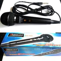 Microfono Audesbo 102 Para Consola O Amplificador De Cualqui