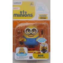 Figura De Acción De Lujo Articulada Minion Bob