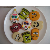 Galletas Decoradas Calaveritas, Dia De Muertos, Halloween