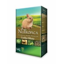 Ração Nutrópica Para Coelhos Filhotes 500g - Premium