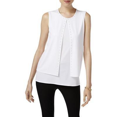 Blusa Superior Kasper Traje Camisa Mujer De Separar npOzHw8Yq