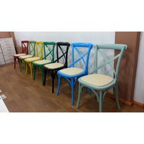 Cadeira Katrina-paris Decorativa Colorida/natural- Promoção