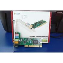 Tarjeta Sonido Encoré 5.1 Slot Pci Computadora Pc