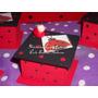 Cajitas,souvenirs,con Aplique Vaquita San Antonio,1 Añito