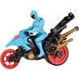 Power Rangers Dino Super Carga Dino Stunt Bike Y Aqua