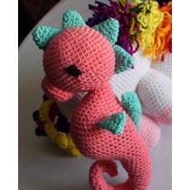 Amigorumi Caballito De Mar Muñecos Crochet Amigorimis