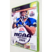 Ncaa Football 2005 + Top Spin Tenis X-box Classico Somente