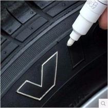 Caneta Tinta Branca Pinta Pneus Carro Moto Pneu O Legítimo