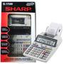 Calculadora De Mesa Sharp El-1750v C/ Impressão