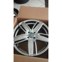 Jogo De Rodas Esportiva Audi Golf Kr Aro 17 Novas Na Caixa