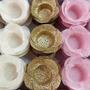 Rosa bb/ Dourado/ Marfim