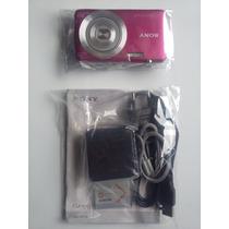 Câmera Digital Cyber-shot 16.1mp Hd Dsc-w710 Sony Cor Rosa
