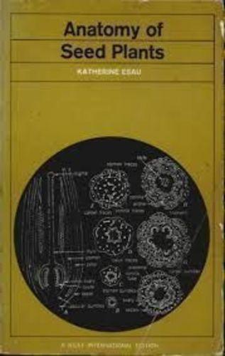 Livro Anatomy Of Seed Plants Katherine Esau R 3000 Em Mercado Livre