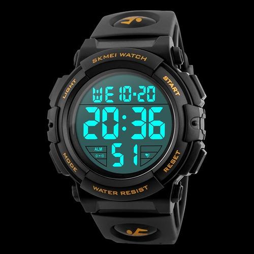 7d5141efd0f Relógio Skmei 1258 Esportivo Digital Multifunção Original - R  89